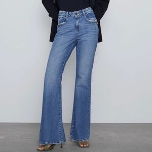 NEW Zara Vintage Flare Jeans